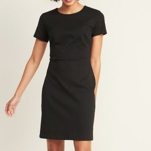 Old Navy | Ponte-Knit Sheath Dress | Black | Size Medium